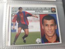 EDICIONES ESTE 2001 2002 RIVALDO FC BARCELONA NUEVO DE SOBRE