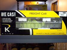 K652-7435 O Scale K-Line Train Die Cast Kentucky Gondola Quarter State. $SAVE$