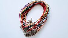 Jewelry Wholesale Lots 100 pcs Mixed Color Twist Leather.
