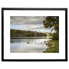 Fine Art Photography Print Light Spot Mt Tom Lake Limited Edition Archival Paper