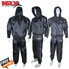 MRX Unisex Sauna Sweat Suit ~ Dual Layer ~ Fitness Weight Loss Exercise Training