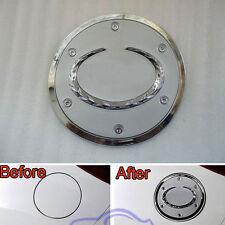 Chrome Auto Exterior Fuel Gas Oil Tank Cap Dec Trim Cover For Mazda Cx-5 12-14