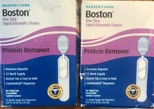 Bausch Lomb Boston One Step Liquid Protein Remover 12 Vials (2 Pack) 01/20+