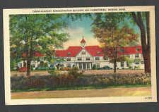 Ca 1931 Ppc Tabor Academy Bldg & Dorms Marion Ma, Mint