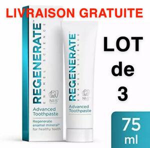 Lots De 3 Dentifrice Regenerate Expert 75 ml