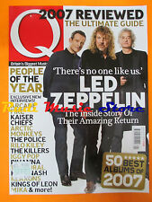 Q Magazine 258/2008 Led Zeppelin Arcade Fire Kaiser Chief Police Killers No cd