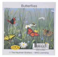 NEW Garden Butterflies Microfiber Glasses Cleaning Cloth Cleans Mobile Device Sc