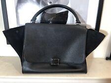 Celine Classic Black Medium Trapeze Bag