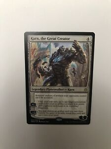 MTG - Karn, the Great Creator - War of the Spark - English, Rare, NM