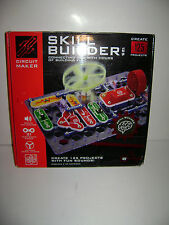 ELENCO SKILL BUILDER CIRCUIT MAKER 125 Projects with SOUNDS Science Toy Rare