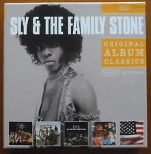 SLY & THE FAMILY STONE..5 x CD BOX SET..ORIGINAL CLASSICS..2010 EPIC SET..EX