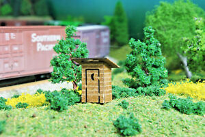 N scale Outhouse Laser Kit