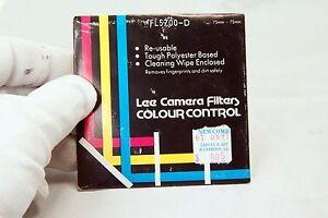 """Fl 5700-D Lee Camera Filter Sqaure 75X75mm 3X3"""" Color Control FL-D"""