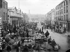 Photo. 1901.  Cork City.  Paddy's Market