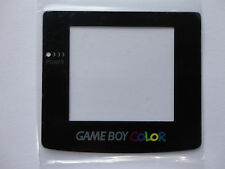 GBC GAME BOY COLOR system replacement glass material screen lens, usa seller,NEW