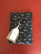 Jack Wills iPad Mini/Tablet Case-Azul Marino Floral