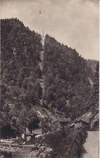 uralte AK, Seilschwebebahn Ebensee-Feuerkogel, Blick von der Talstation