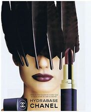 PUBLICITE ADVERTISING 094 1996 CHANEL HYDRABASE