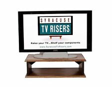 """Provincial """"Double Top"""" Tv Riser-Solid-Safe-26w x 14d x 8"""" h syracuse tv risers"""