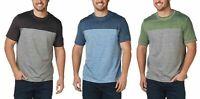 G.H. Bass & Co. Men's Crew Neck Short Sleeve T-Shirt UPF 50