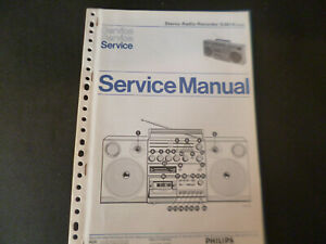 Original Service Manual Schaltplan Philips  N 8614