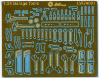 1:24 Mechanic's Tools For Dioramas & Detailing