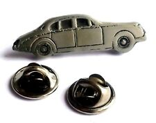 Classic Saloon Car Handcrafted English Pewter Lapel Pin Badge Last One