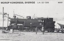 AK UNREAD Morop Congress Sweden litt. S2 1306 Baden Model järnvägs (G2572)