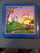 TREASURY OF FAIRY TALES - Gilt Edges - Heavy Gloss Paper Beautiful Big Book