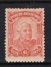 ARGENTINA Stamp Lot #9: Scott #62, MH OG (Small Thin)