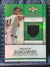 2012 Topps Triple Threads Unity Relic Madison Bumgarner Giants Emerald 15/18