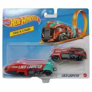 Mattel - Hot Wheels Die-Cast Vehicle - Track Stars - LOCO LOOPSTER (GRV16) - New