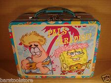 SPONGE BOB Pal's In Paradise Tin Lunch Box Nickelodeon