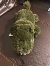 Patchwork Bright Alligator 9'' Dog Toy Squeaks