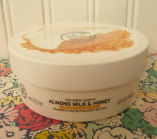 THE BODY SHOP ALMOND MILK & HONEY BODY BUTTER 6.9 OZ CREAM