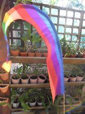 Bali Flag (umbul umbuls) 1.4 m rainbow colours + complimentary pole