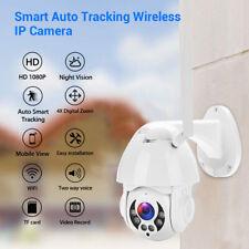 2MP 1080P 4X Digital Zoom IP Camera Security Two Way Audio Outdoor Indoor Mount