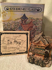 Premiere Edition.Boyds Bearly Built Villages.The Public Library