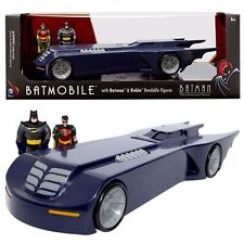 The Animated Series 14-inch Batmobile w/ Batman & Robin 3-Inch Fig by NJ Croce