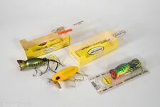 Vintage Fred Arbogast Jitterbug & Hula Popper Antique Fishing Lure Lot JK1