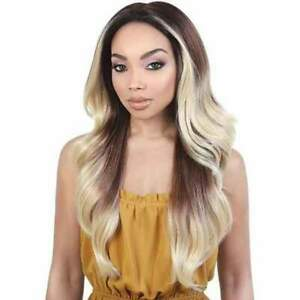 MOTOWN TRESS LET'S LACE WIG SPIN PART LDP-SPIN72  COLOR FH99J/COPPER NWOB