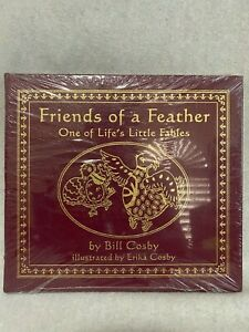 EASTON PRESS Bill Cosby FRIENDS OF A FEATHER SIGNED FIRST EDITION Leather SEALED