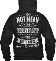Latest Im Not Mean, Honest - Country Angel I'm Mean The Gildan Hoodie Sweatshirt