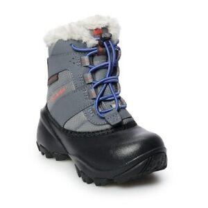 Columbia Rope Tow III Girls' Waterproof Winter Snow Boots sz 12 NWB