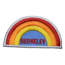 Vintage Berkeley California Rainbow Patch