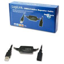 Repetidor 20m USB cable prórroga amplificador señal ampliación refuerzos nuevo