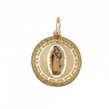 14k Virgin Mary Guadalupe Charm Pendant