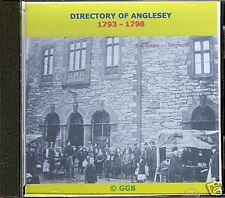 GENEALOGY DIRECTORY OF ANGLESEY 1793 - 1798