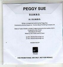 (CW699) Peggy Sue, Dumbo - 2011 DJ CD