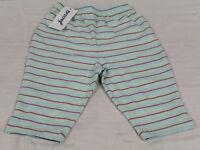JACADI Girl's Triplano Striped Blue Pants Sz 6 Months NEW $30